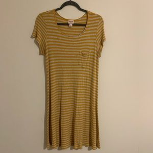 Stripped cotton dress